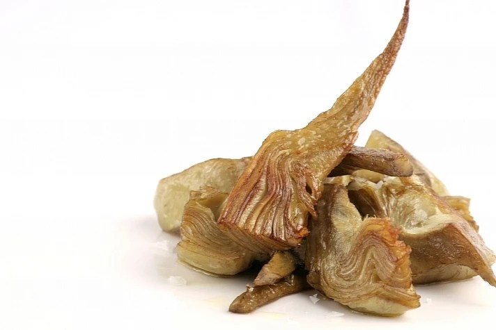 Alcachofa confitada en aceite de arbequina - Productos Quinta Gama para Alta Cocina - foodVAC