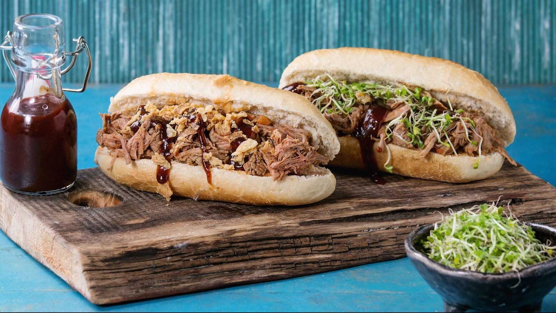 Hot dog de pulled pork - Productos Quinta Gama para Alta Cocina - foodVAC