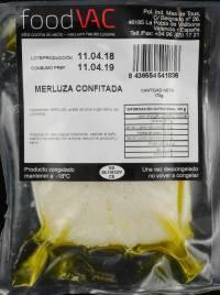 Merluza confitada foodVAC