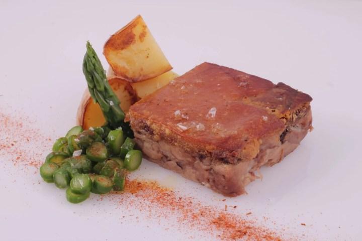 Boned pork knuckle terrine - Sous Vide Fine Food for Haute Cuisine - foodVAC
