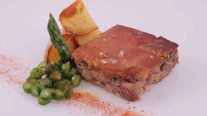 Terrina de codillo de cerdo deshuesado - Productos Quinta Gama para Alta Cocina - foodVAC