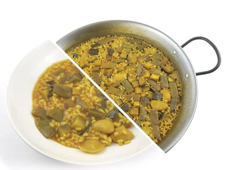 Arroz de Verduras Quinta Gama foodVAC