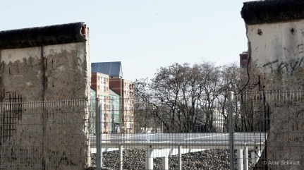 Perspective - Leftovers of the Berlin Wall, Mitte, March 2011