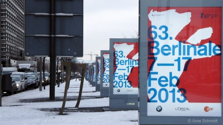Berlin International Film festival ahead - Potsdamer Platz, February 2013