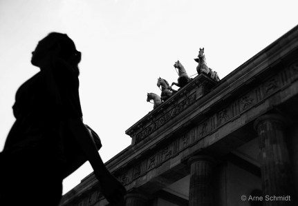 People and Stones - Brandenburg Gate, Berlin Mitte-Tiergarten, July 2012