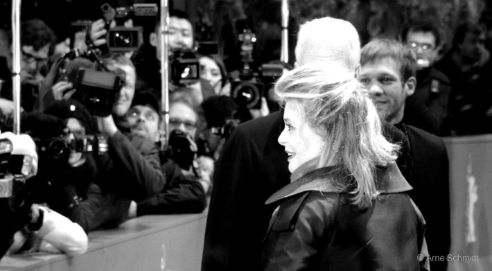 The Smile - Catherine Deneuve on the red carpet of 63rd Berlinale, February 2013