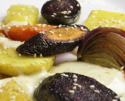 Oven-baked Winter Vegetables