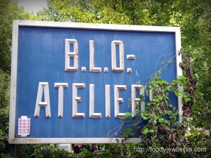 At BLO Ateliers - Berlin Lichtenberg, July 2013