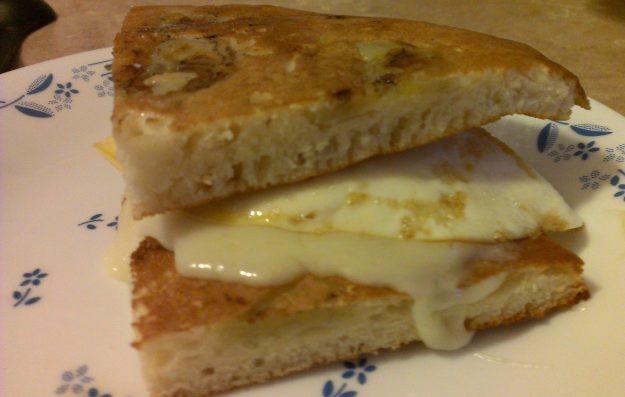 Pancake Sandwich.