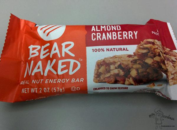 Bear Naked Almond Cranberry