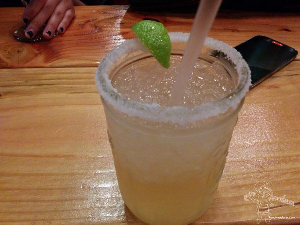 Out of the park margarita? Not sure...
