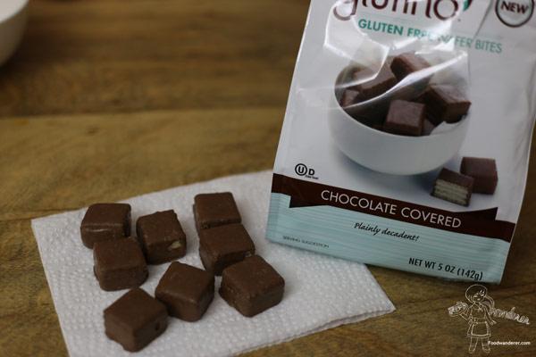 Glutino Chocolate Covered Wafers Bites