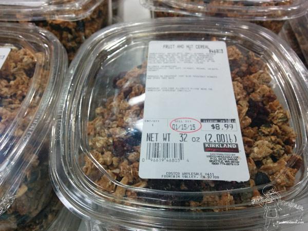 Kirkland Fruit and Nut cereal