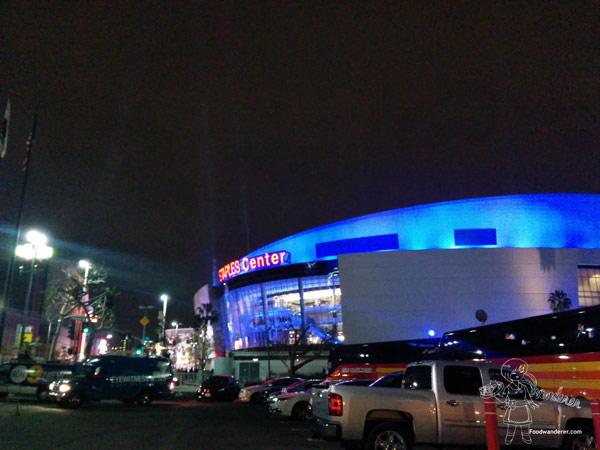 Staples Center!