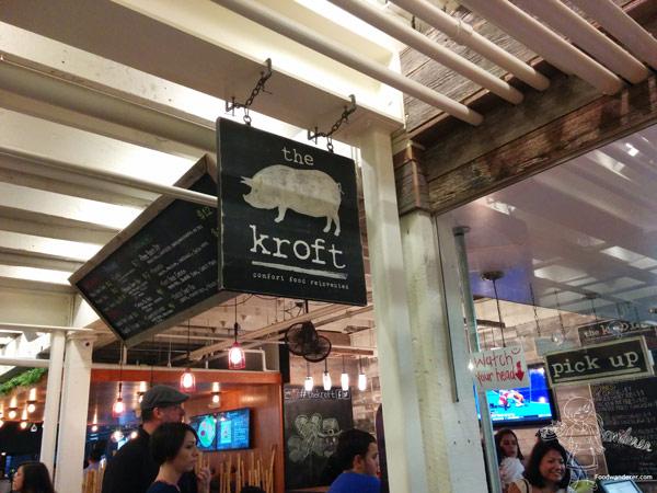 The Kroft pig logo