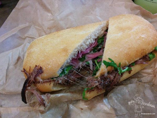 The Kroft Braised Short Rib Sandwich