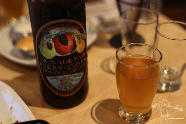 J.K.'s The Pair Perry Cider Farmhouse Organics