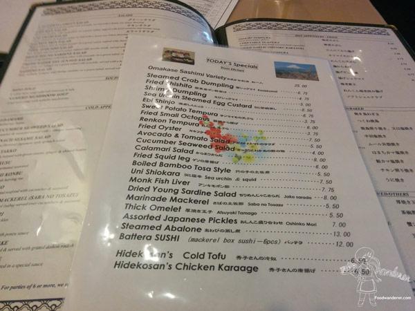 Sushi Koto Sushi Bar & Dining Additional menu