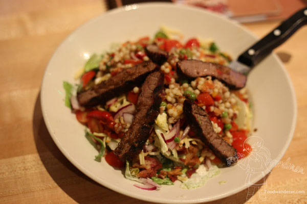 STACKED Steak Salad