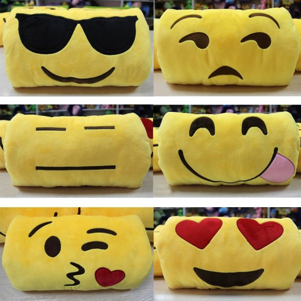 Cute Emoji Cushion Stuffed Hand Muffs pillow