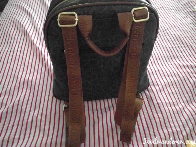 backpack grab handle