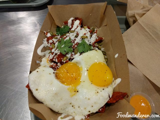 Chilaquiles eggs