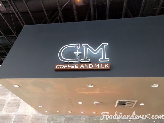 C + M Coffee and Milk logo