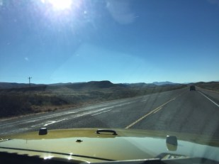 Some of the roads on the way