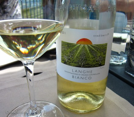 A nice white blend from a small winery.