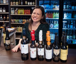 April Amys was our sherry guide