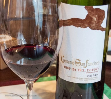 """Ribera is classified by it's aging. This was a """"Roble"""", which means it was aged only 3-6 months in oak. Lots of bright fruit, and the oak definitely showed."""