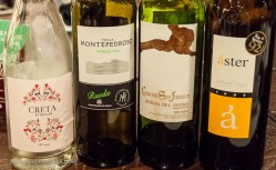 Wines from Ribera and Rueda, Foreign Legion food in a beautiful private room, what's not to love?