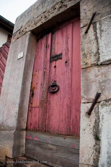 Doorway in Chassagne-Montrachet