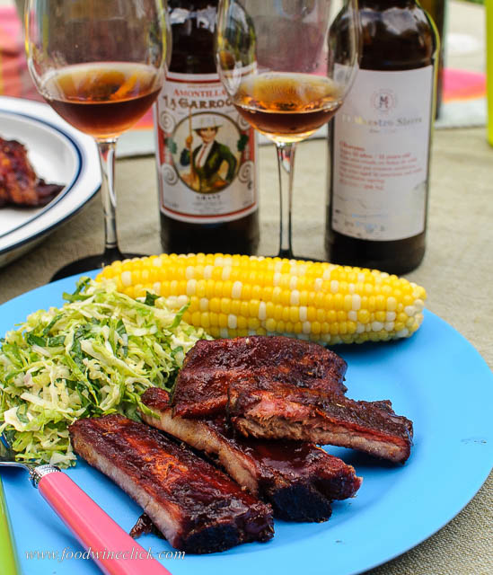 Ribs and Oloroso sherry