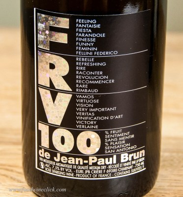 There are a few sparkling wines that are not made by Methode Champenoise. If you see an alcohol level below 12%, likely it was made by another method. This is a fun example.