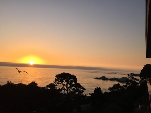 sunset at carmel highlands