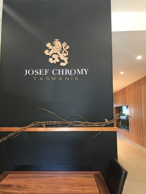 Josef Chromy Tasmania lunch