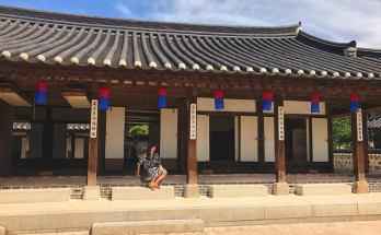 Namsangol hanok village old houses in korea mansion