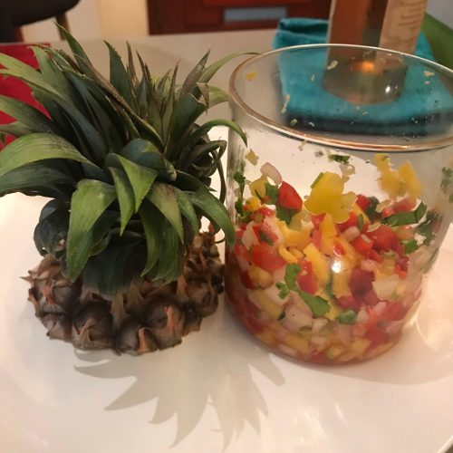 Pineapple salsa recipe - easy and simple