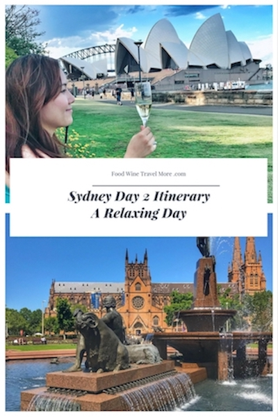 Sydney Day 2 A Relaxing Day Pinterest Itinerary