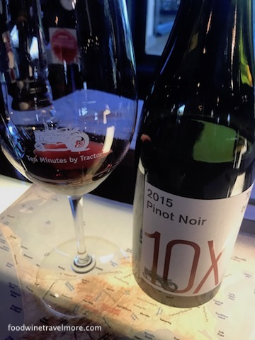 10 minutes by tracktor pinot noir wine tasting mornington