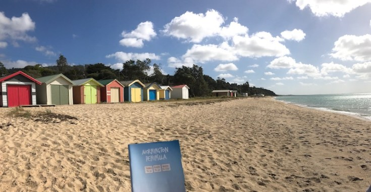 Mornington peninsular safety beach bath box