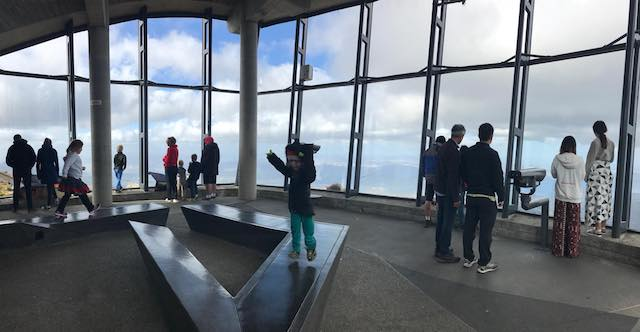 mount wellington observation shelter