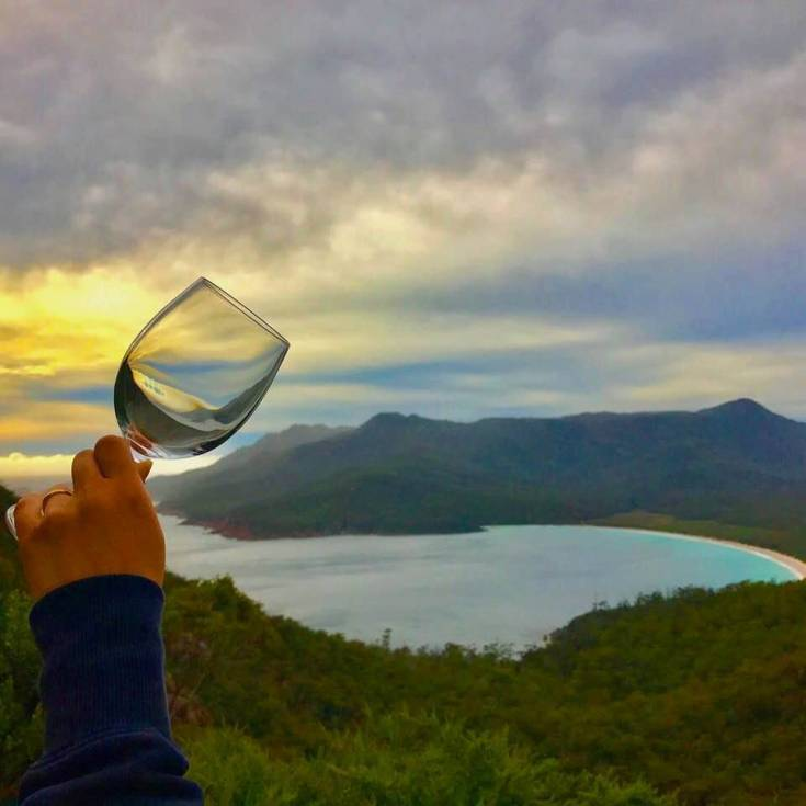 wineglass at wineglass bay