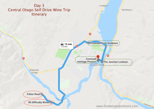 day 3 Central Otago Self drive wine Trip