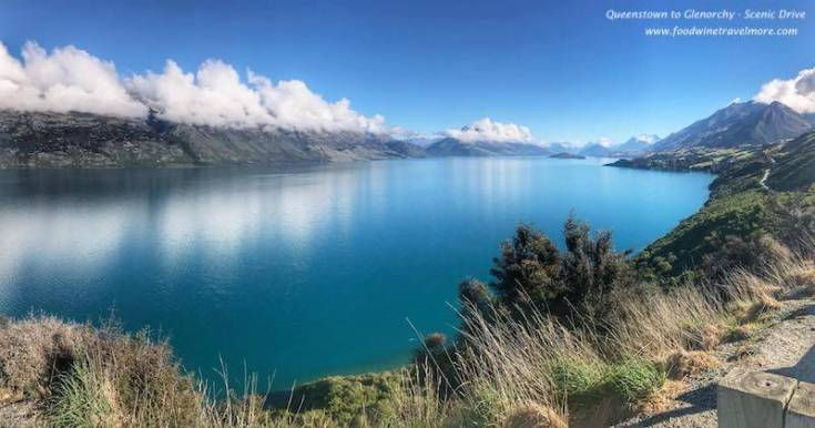 Queenstown to glenorchy scenic drive amazing view