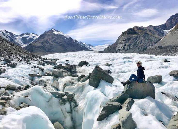 Mount cook helihike on tasman glacier - beautiful view travel blog