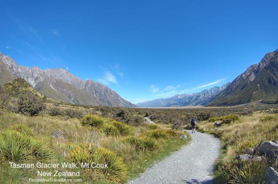 Tasman Glacier Walk - Hiking In Mt Cook