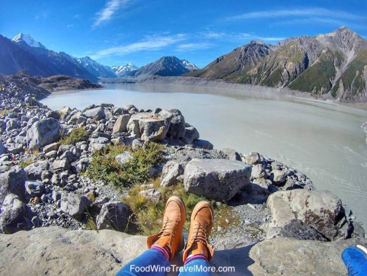 Tasman Glacier WAlk Mount Cook New Zealand South ISland Blog