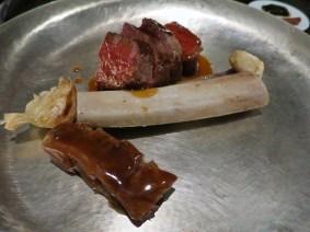 #17 beef rib steak - Benu, SF, Oct 2016